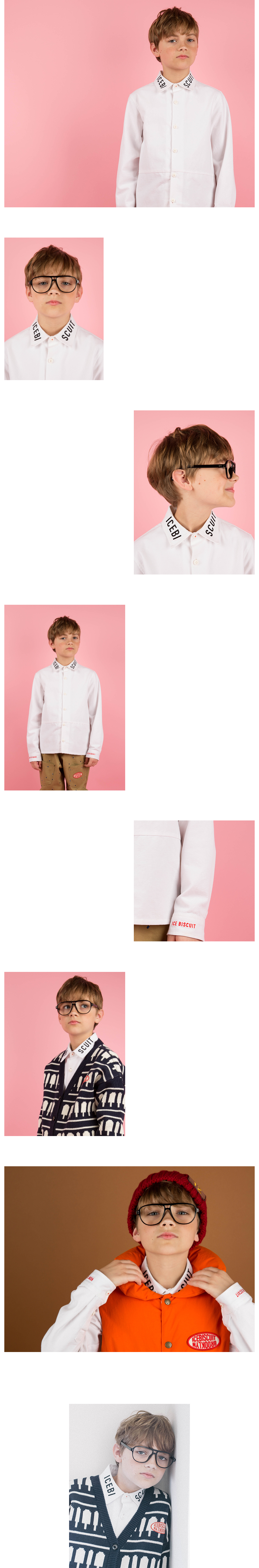 Icebiscuit oxford white shirts