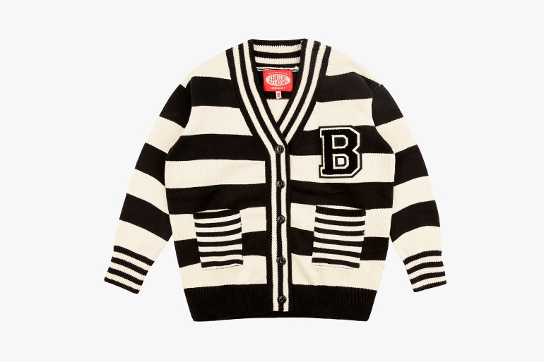 아이스비스킷 - B Wappen point stripe cardigan 30% sale