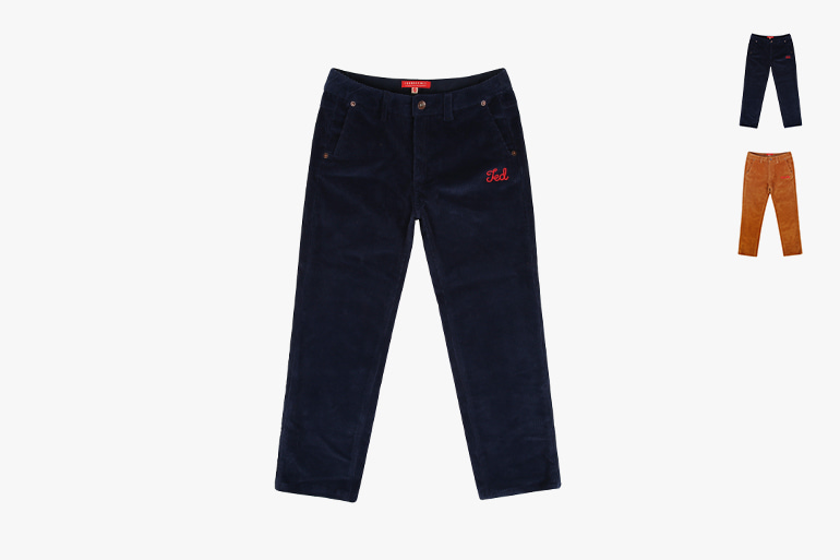 아이스비스킷 - Icebiscuit straight-fit corduroy pants 20% sale