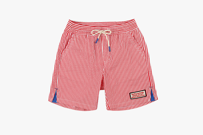 아이스비스킷 - Surf club stripe shorts 20% sale