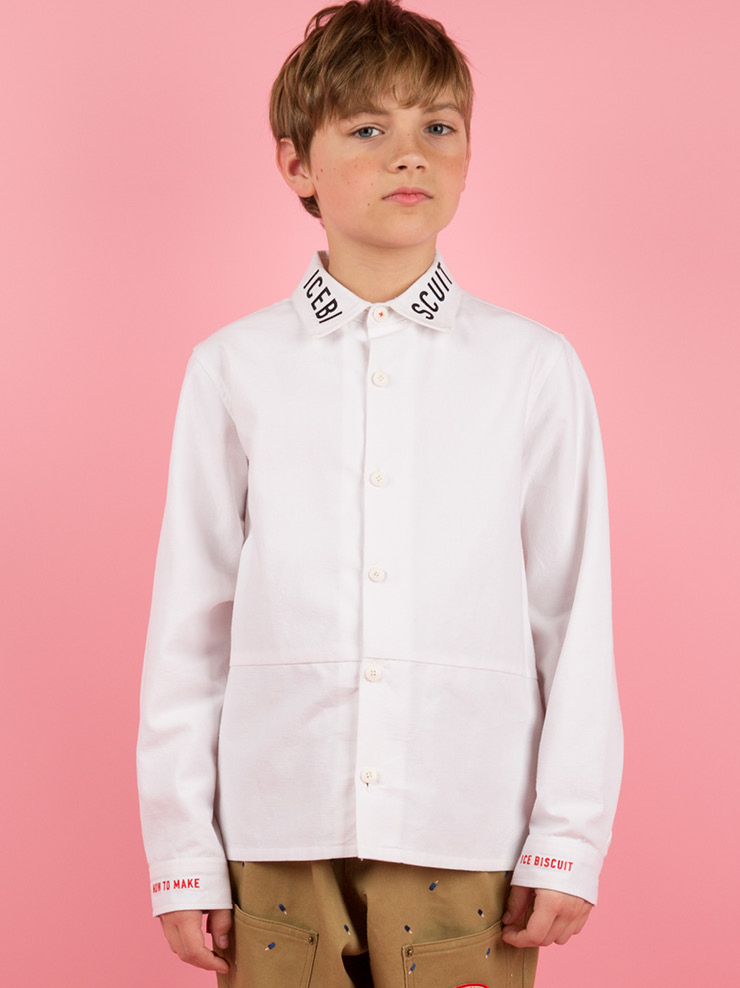 아이스비스킷 - Icebiscuit  oxford white shirts 20% sale