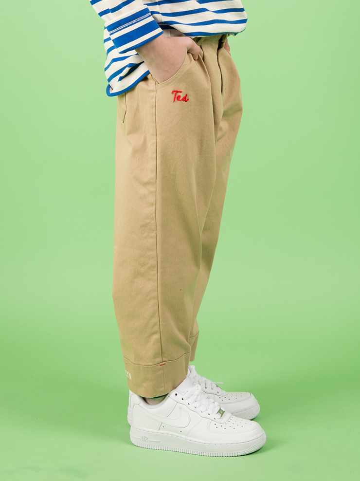 아이스비스킷 - Icebiscuit crop pants