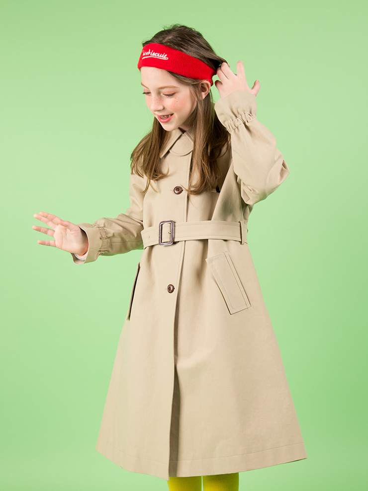 아이스비스킷 - Rabbit trench mac coat 30% sale