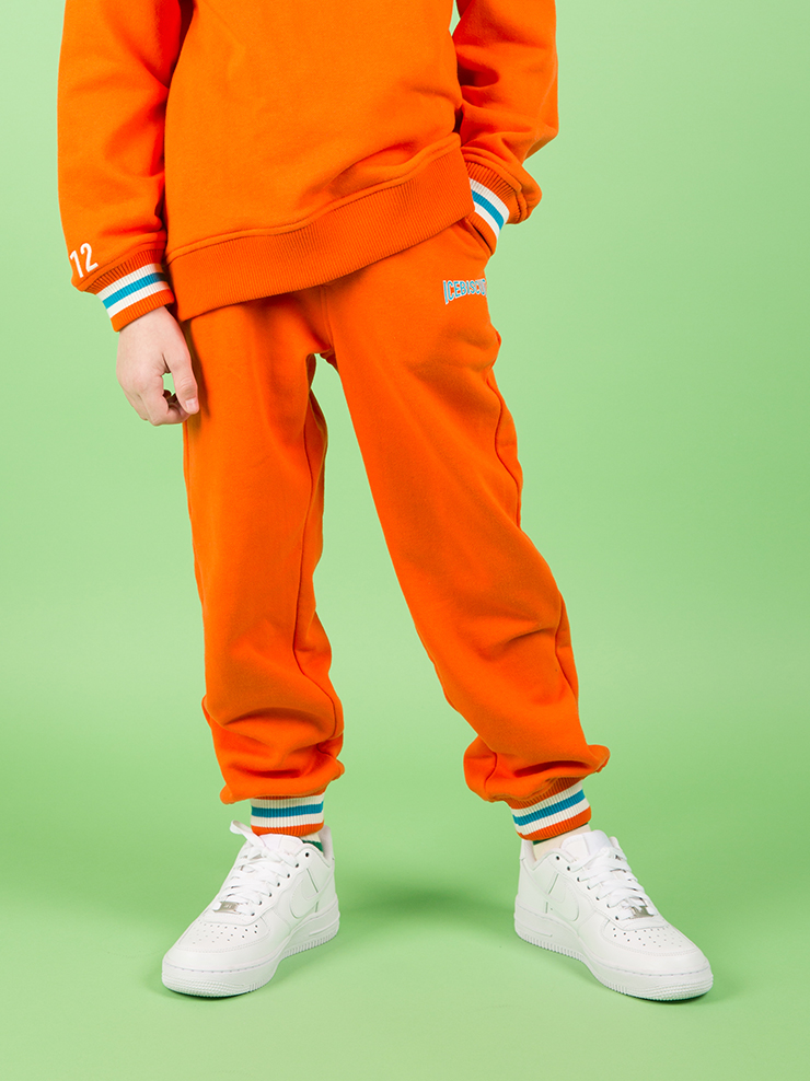 아이스비스킷 - Cotton sweat pants with icebiscuit print