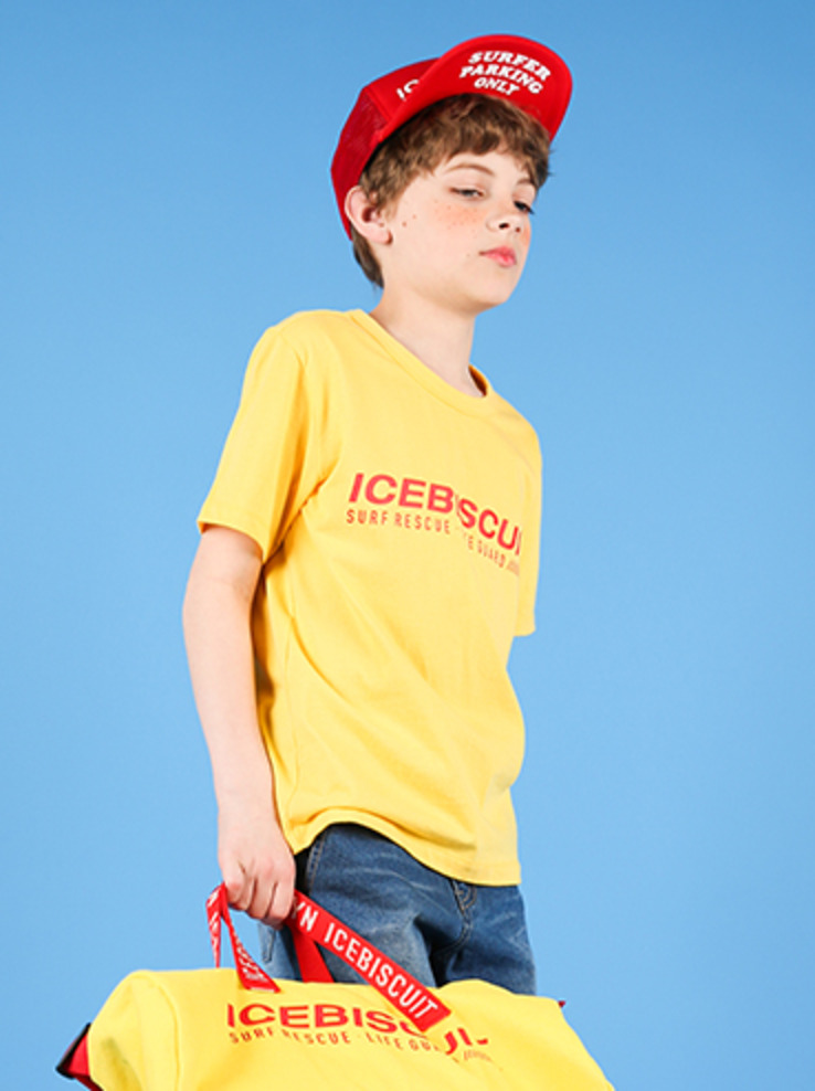 아이스비스킷 - Lifeguard short sleeve tee