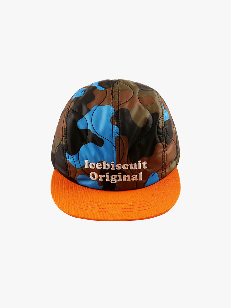 아이스비스킷 - Icebiscuit camo camp cap