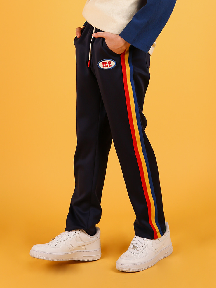 아이스비스킷 - Athletic club tapered-fit pants 20% sale