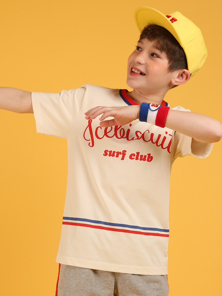 아이스비스킷 - Surf club short sleeve tee
