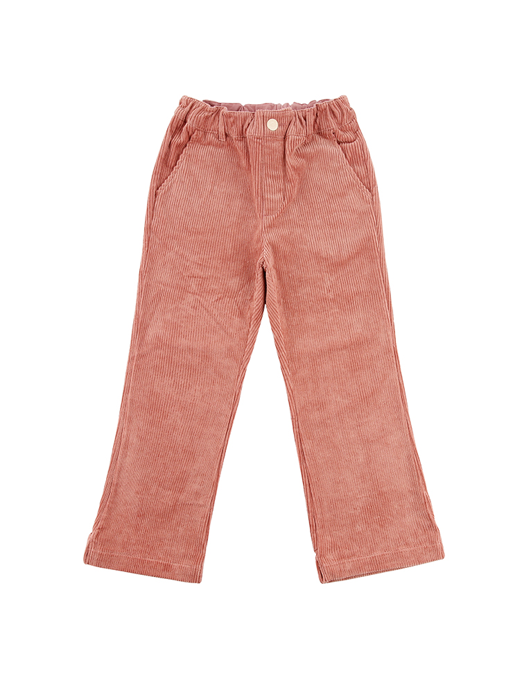 아이스비스킷 - Icebiscuit roll-up point corduroy pants