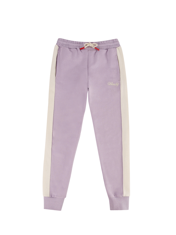 아이스비스킷 - Wendy color block sweat pants