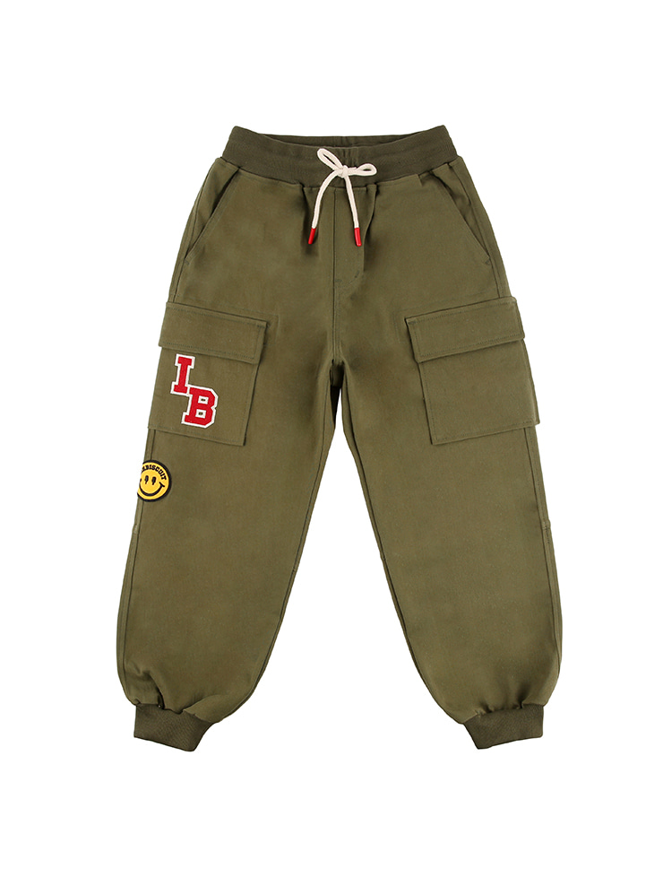 아이스비스킷 - Smile wappen cargo pants