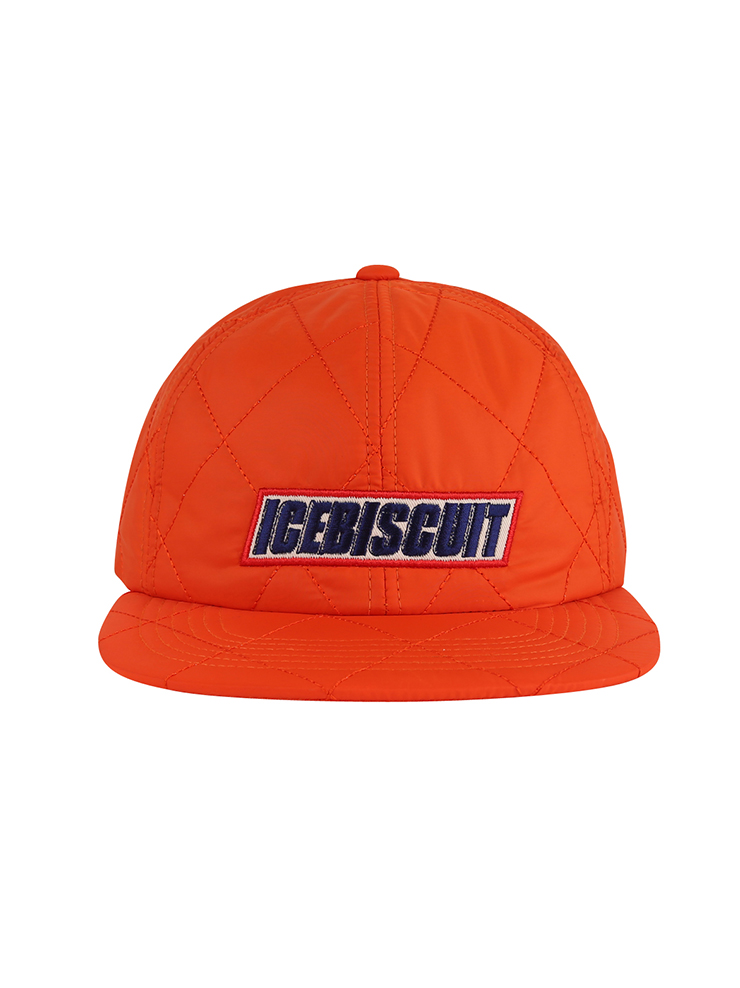 아이스비스킷 - Icebiscuit quilted 6 pannel cap