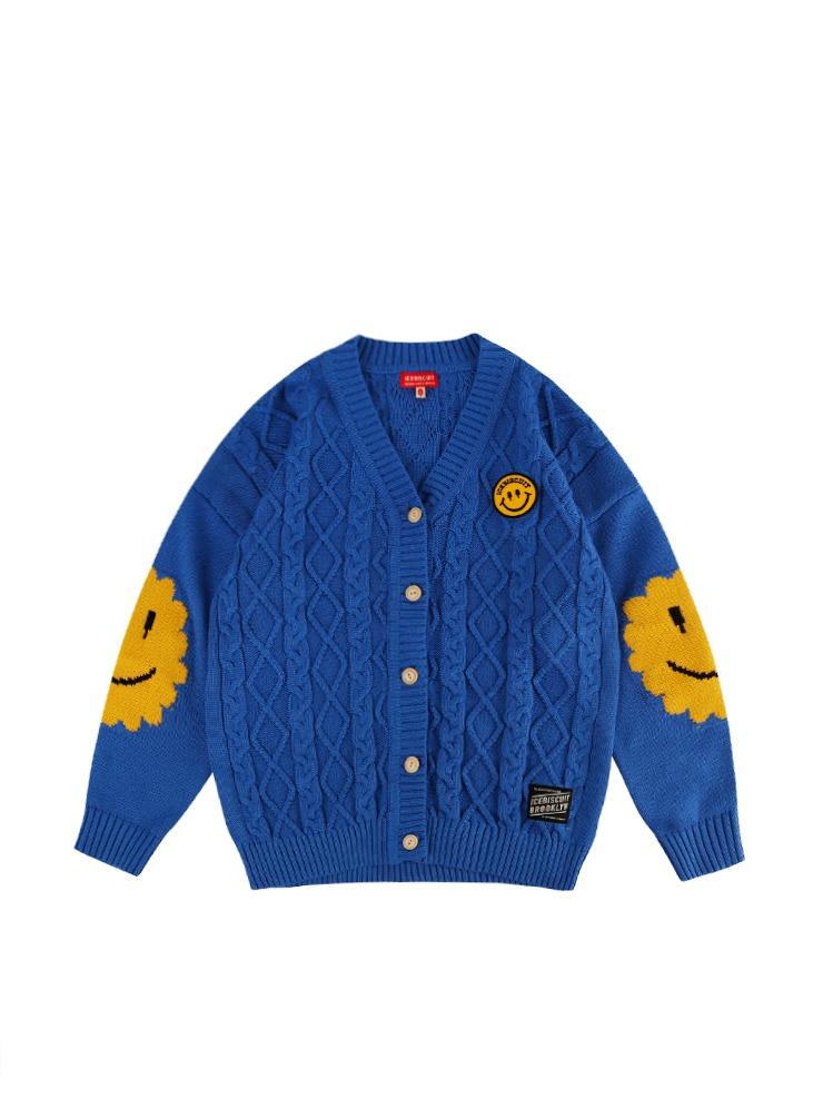 아이스비스킷 - Icebiscuit smile point cardigan
