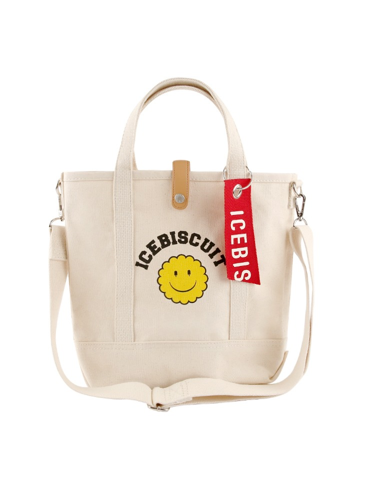 아이스비스킷 - Icebiscuit smile oxford shoulder bag