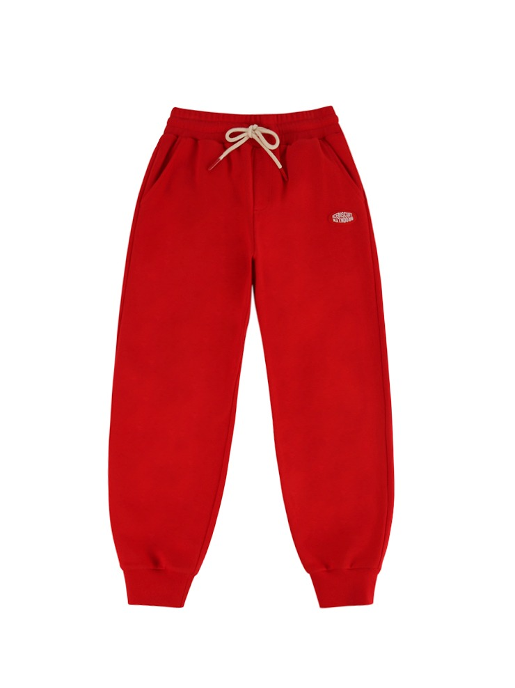아이스비스킷 - Icebiscuit classic logo sweat pants