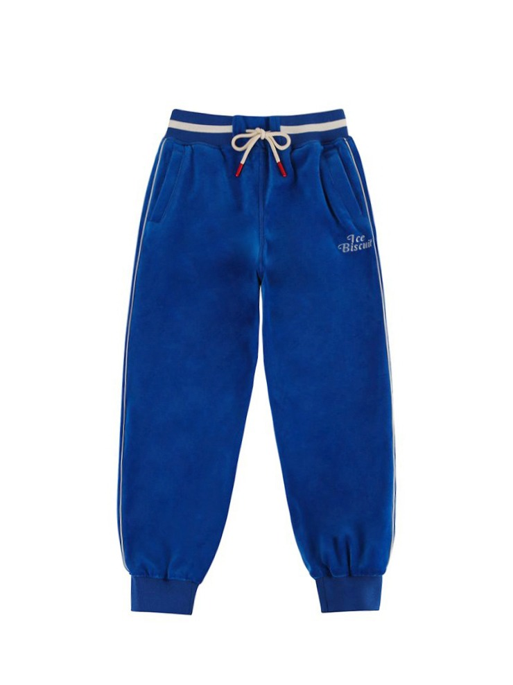 아이스비스킷 - Piping point velour track pants