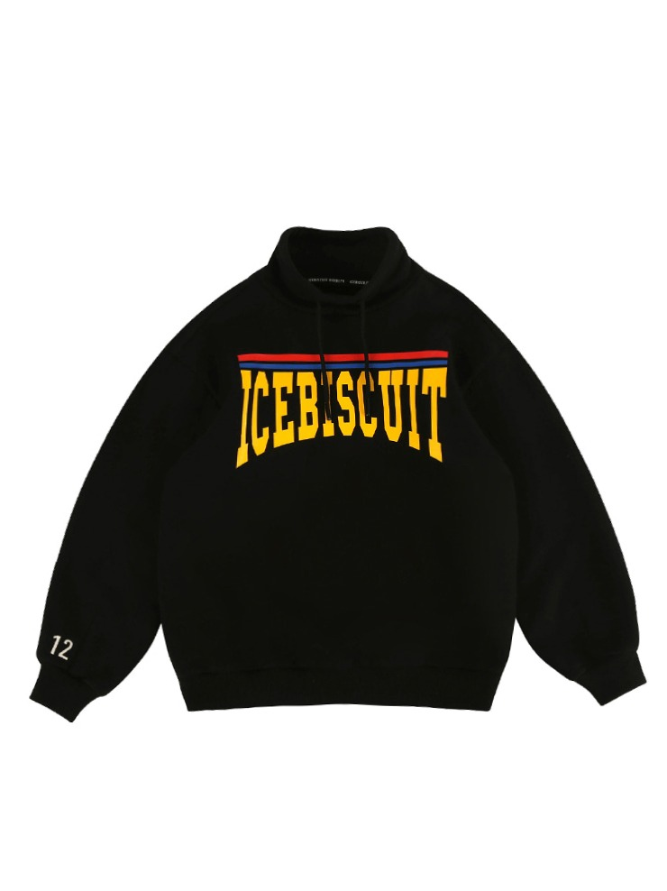 아이스비스킷 - Icebiscuit high-neck sweatshirt (기모O)