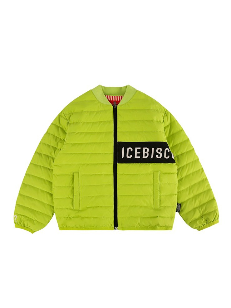 아이스비스킷 - Icebiscuit color block light down jacket 20% Sale