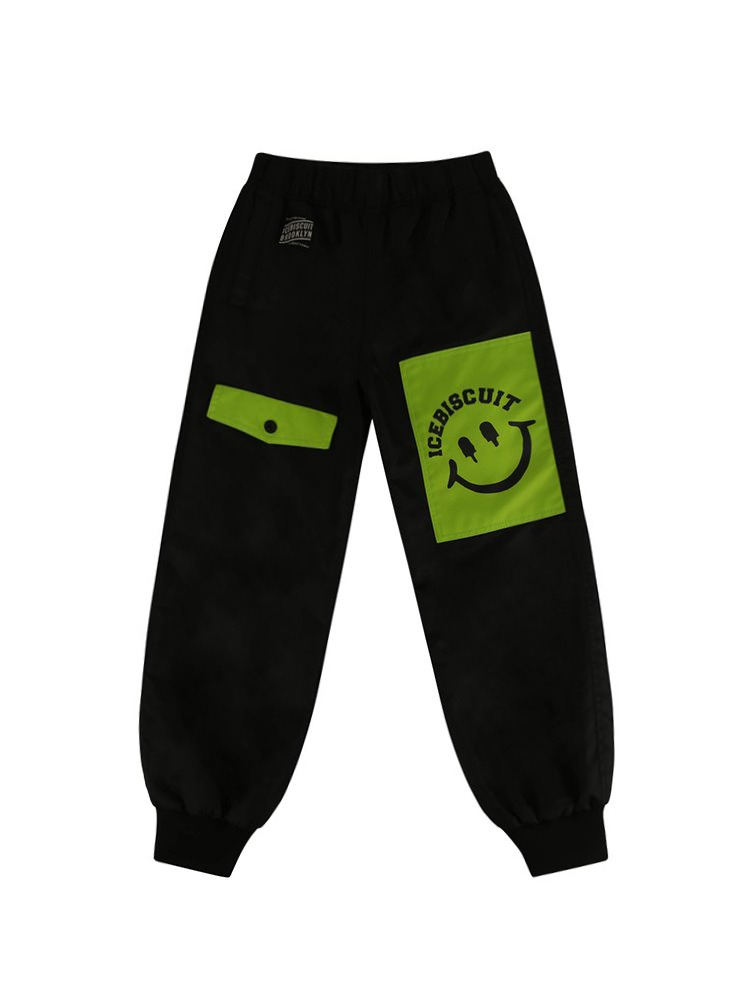 아이스비스킷 - Icebiscuit nylon flight pants