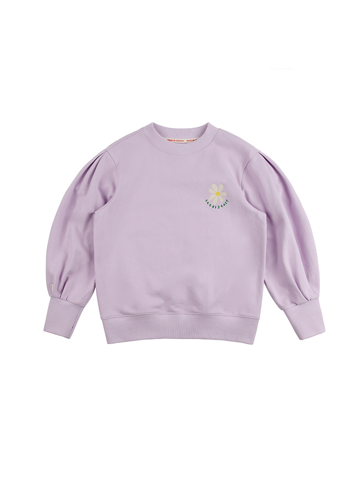 아이스비스킷 - Daisy balloon sleeve sweatshirt 20% sale