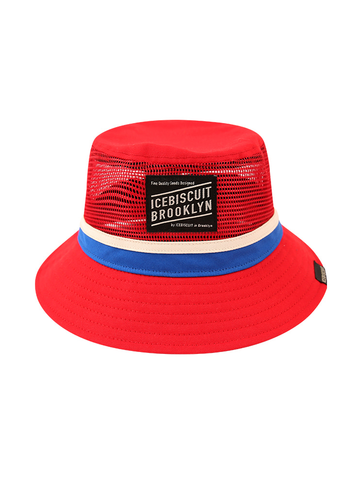 아이스비스킷 - Icebiscuit mesh bucket hat