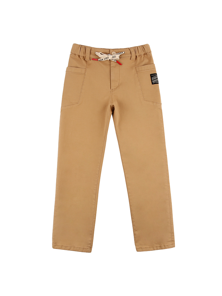 아이스비스킷 - Ted out pocket tapered-fit pants 20% sale