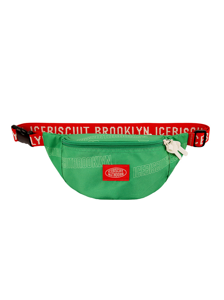아이스비스킷 - Allover Icebiscuit waist bag