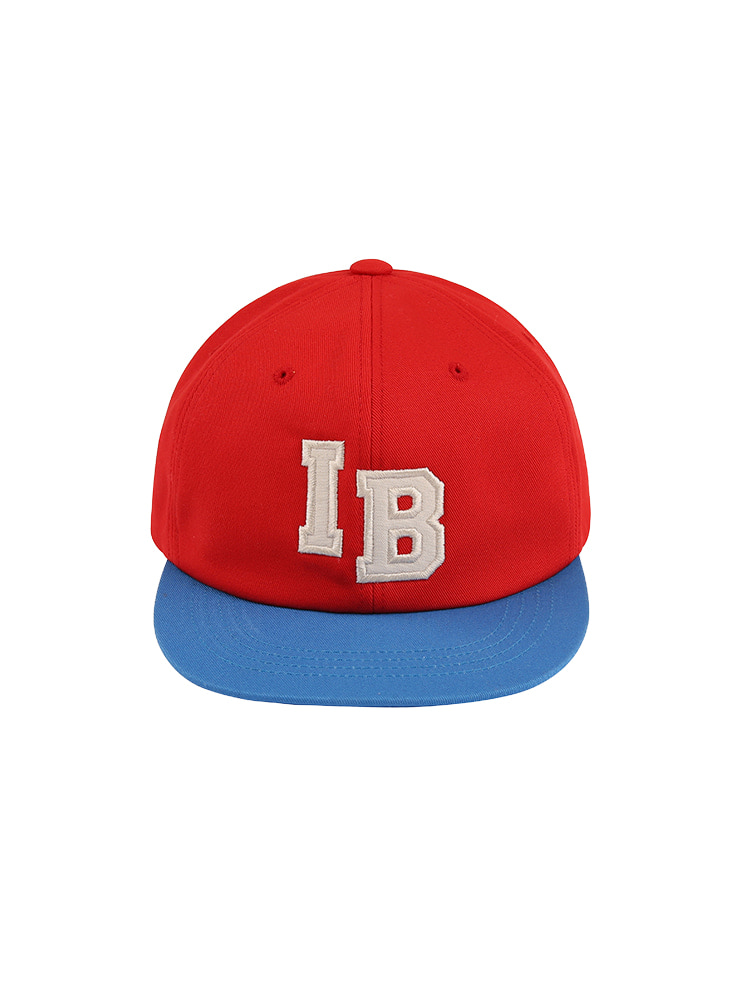 아이스비스킷 - IB color block 6 panel cap