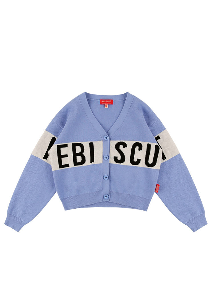 아이스비스킷 - Icebiscuit color block cardigan 10% Sale