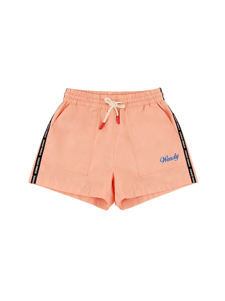 아이스비스킷 - Icebiscuit tape logo shorts 20% sale