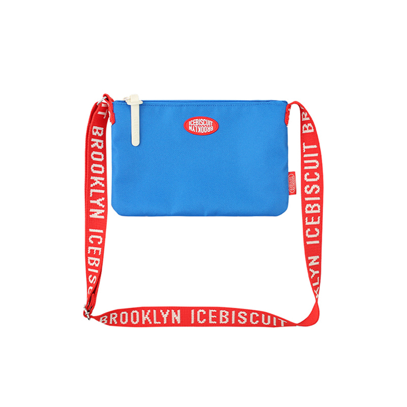 아이스비스킷 - Icebiscuit letter print messenger bag