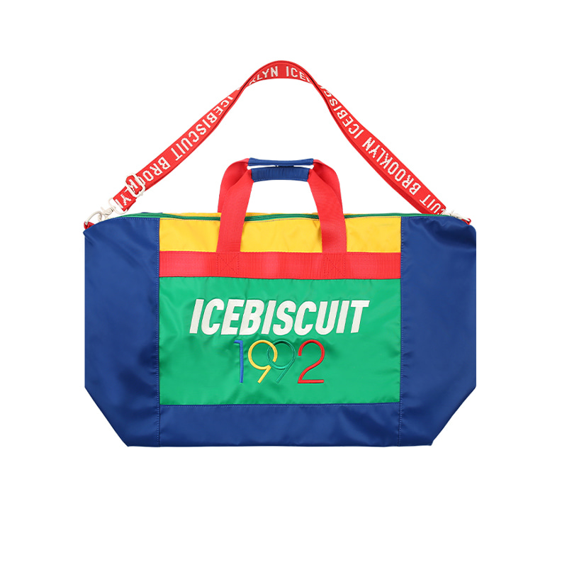아이스비스킷 - 1992 Icebiscuit color block gym bag