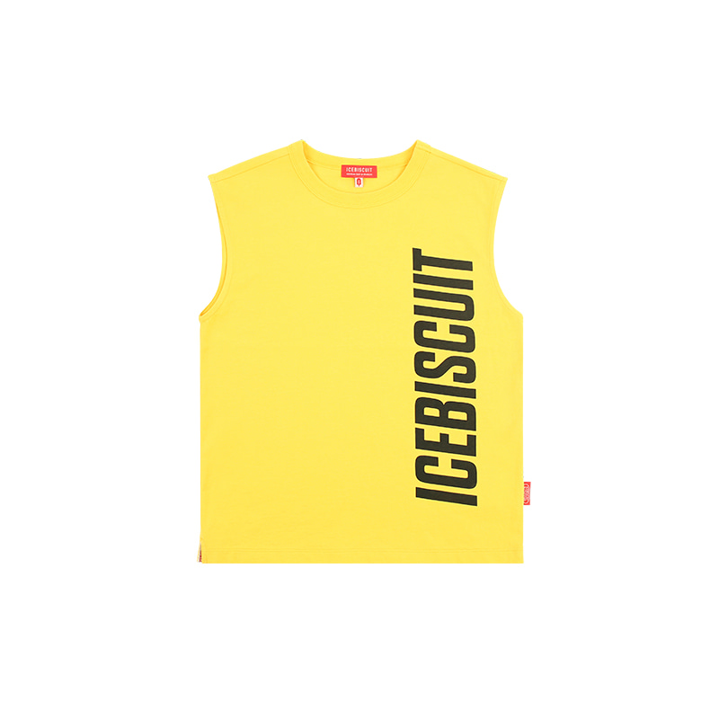 아이스비스킷 - Icebiscuit logo graphic sleeveless top 30% sale