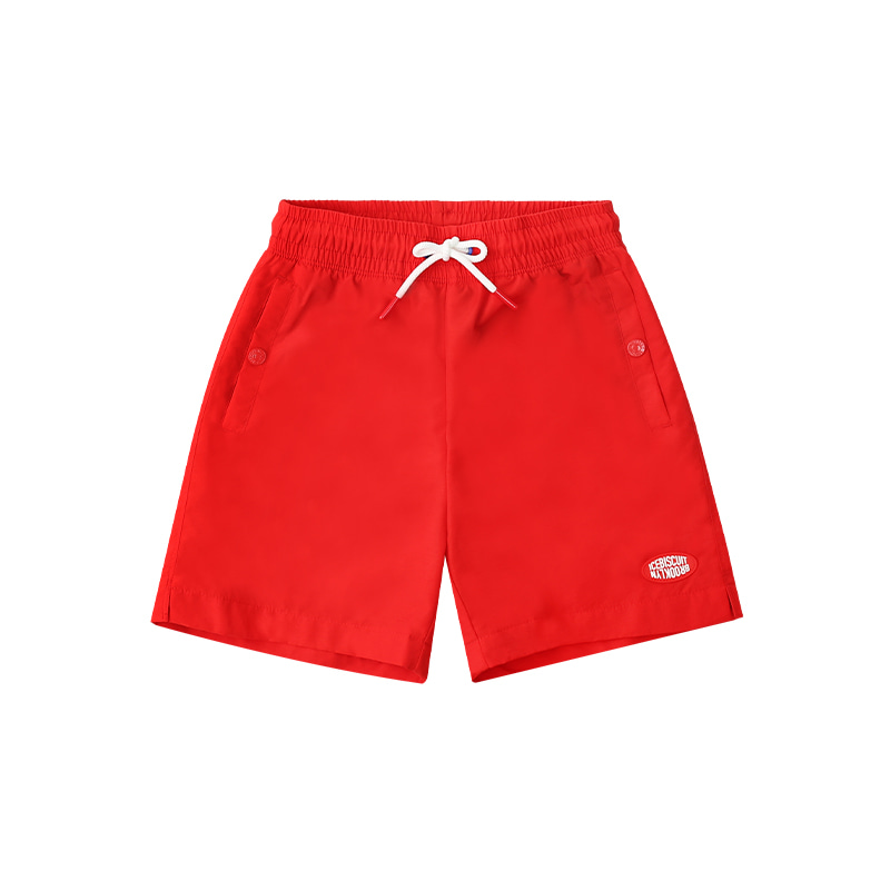 아이스비스킷 - Icebiscuit logo patch nylon shorts 20% sale